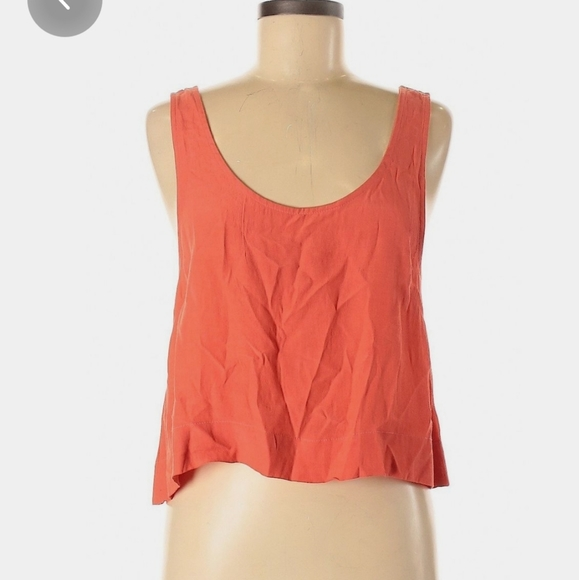 MINKPINK Coral crop top in size XS
